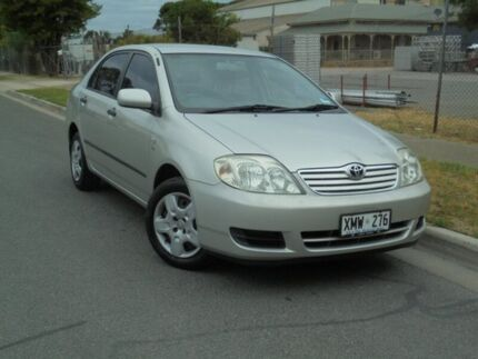 2007 Toyota Corolla ZZE122R MY06 Upgrade Ascent Sterling Silver 4 Speed Automatic Sedan