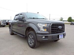 2016 Ford F-150 XLT, FX4 OFFROAD PACKLAGE, SKID PLATES, POWER RE