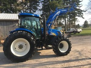 NEW HOLLAND T6030 ELITE TRACTOR - LOADER
