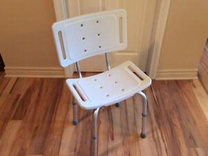 Chaise de bain neuve à vendre