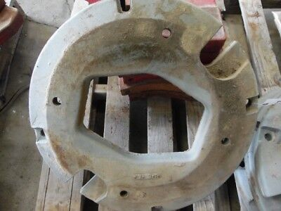 International Harvester Tractor Whole Circle Wheel Weight 125 Lb. Tag 127