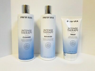 Intensiv-therapie (Pravana Intensiv Therapie Reinigen Shampoo, Nähren Haarspülung, & Behandlung)
