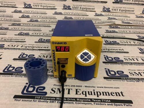 Hakko FM-202 Soldering Station w/Program Key, B2756 Tip Holder, & Warranty!!