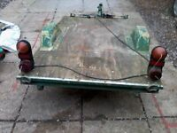 small car trailer ideal to carry quad or rider on mower