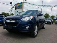 2010 Hyundai Tucson GLS |LOADED|Pwr/Leather/Htd Seat|Sun Roof+++