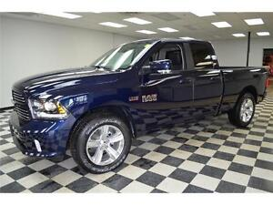 2016 RAM 1500 SPORT HEMI 4X4 - LOW KMS**HEATED SEATS**NAV