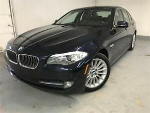 2011 BMW 535i xDrive|NAV|SENSORS|SUNROOF|NO ACCIDENTS