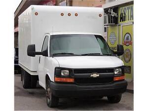 2010 Chevrolet Express 3500*14 FT BOX* 4.8 L *V8 *  RAMP*