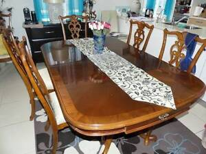 Dining Table with 8 Chairs Hope Island Gold Coast North Preview