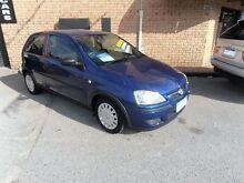 2004 Holden Barina XC MY05 Blue 5 Speed Manual Hatchback Wangara Wanneroo Area Preview