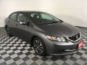 2013 Honda Civic Sdn EX-ACCIDENT FREE-HEATED SEATS-BACK UP CAMER