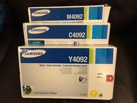 Samsung Printer Toner - M4092, C4092, Y4092 - new