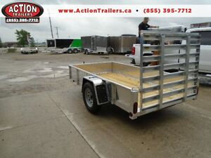 5x10 QUALITY ALUMINUM UTILITY - SOLID SIDES - PRICED TO SELL! London Ontario image 1