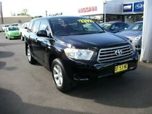 2008 Toyota Kluger GSU45R KX-R AWD Black 5 Speed Sports Automatic Wagon South Grafton Clarence Valley Preview
