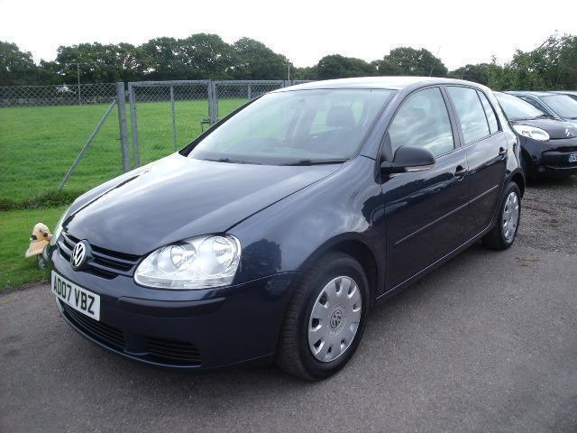 VOLKSWAGEN GOLF S TDI - FSH, Blue, Manual, Diesel, 2007