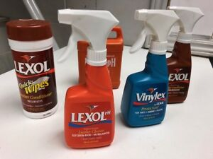 Lexol leather products ( conditioner cleaner vinylex )