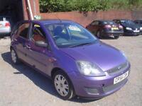 2006 Ford Fiesta 1.25 Style+8 service stamps
