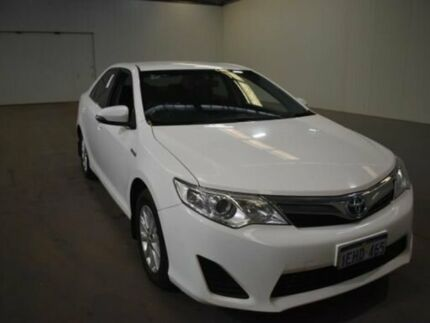 2013 Toyota Camry AVV50R Hybrid H Diamond White Continuous Variable Sedan