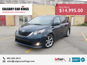 2012 Toyota Sienna SE Power Doors Navigation Sunroof