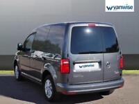 2016 Volkswagen Caddy 2.0 TDI BlueMotion Tech 102PS Highline Van DSG Diesel grey