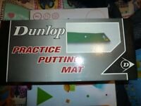 Dunlop 6x1 Putting Mat - Brand New Still Boxed