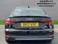 2017 Audi A4 2.0 Tdi Ultra 190 S Line 4Dr Saloon Diesel Manual
