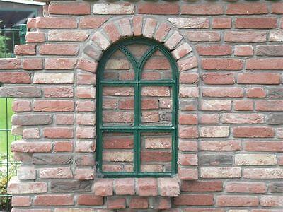 Gotikfenster Gussfenster Spiegel Halbkreis Fenster