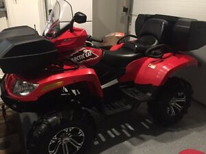 2015 Arctic Cat 500 TRV with all options added to make it a LTD.