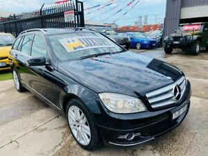 2009 Mercedes-Benz C220 W204 CDI Classic Black 5 Speed Auto Tipshift Wagon