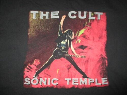 """2006 THE CULT """"Sonic Temple"""" Concert Tour (XL) T-Shirt IAN ASTBURY"""