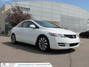 2009 Honda Civic Cpe ONLY 58000 KM'S/HEATED SEATS/SUNROOF