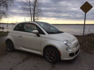 2012 Fiat 500 sunroof, sport model Hatchback