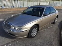 2003 Rover 75 Connoiseur Full service history very well looked after