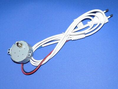 Weihnachts Pyramiden Motor, 220V 4 RPM 4W, Spielzeugantrieb usw.mit 2m Kabel