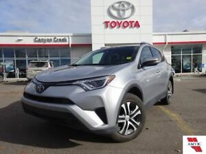 2017 Toyota Rav4 LE AWD/ CLEAN CARPROOF/ TOYOTA CERTIFIED/ 1 OWN