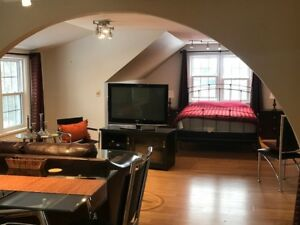 Furnished Executive Penthouse For lease in River Heights