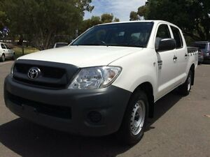 2008 Toyota Hilux TGN16R 08 Upgrade Workmate 5 Speed Manual Dual Cab Pick-up Clarence Gardens Mitcham Area Preview