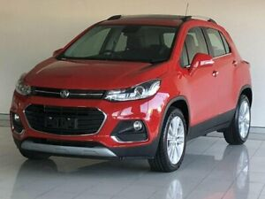 2018 Holden Trax TJ MY18 LTZ Red 6 Speed Automatic Wagon Ashmore Gold Coast City Preview