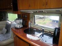 Hobby Excelsior 610 UF 2005 caravan