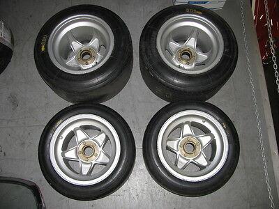 FERRARI BBLM Wheels_Tires_Hubs_MICHELIN SET OF 4_RACING COMPETITION RIMS_OEM