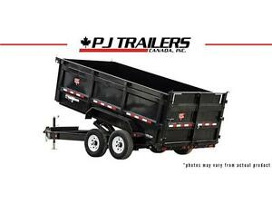 "14' x 83"" Low Pro High Side Dump Trailer (DJ)"