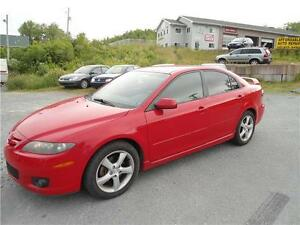 BEAUTIDUL COLOR 2006 MAZDA 6, NICE RED COLOR, NEW MVI + WARRANTY