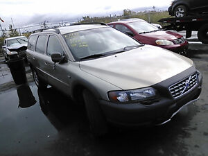 2002 VOLVO V70 AWD CROSS COUNTRY PARTING OUT DISMANTLING AUTO PA