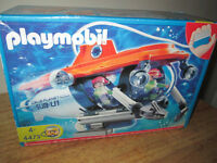 ***REDUCED/REDUIT! PLAYMOBIL SUBMARINE /SEALED BOX/SCÉLLÉ!!!!***