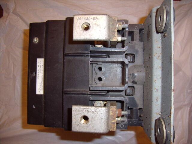 RDP8-20100 WARD LEONARD DP CONTACTOR 535 AMPS 600VDC 2POLE