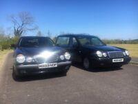 Mercedes E Class Hearse & Limousine Pair