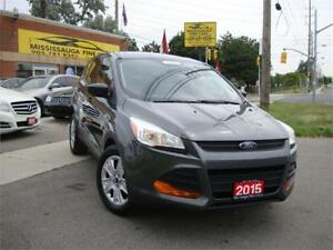 2015 Ford Escape,BLUETOOTH,REAR CAMERA,ONELOCAL OWNER,NO ACCIDEN