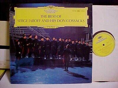 THE BEST OF SERGE JAROFF & HIS DON COSSACKS LP DEUTSCHE GRAMMOPHON DG RECORDS (Best Deutsche Grammophon Recordings)