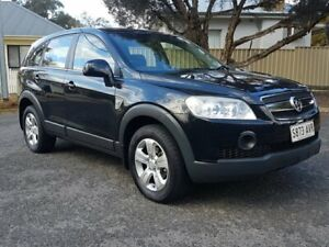 2009 Holden Captiva CG MY09.5 CX AWD Black 5 Speed Sports Automatic Wagon Blair Athol Port Adelaide Area Preview