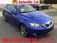 2010 LEXUS IS250C CONVERTIBLE COUPE LOW KMS everyone approved